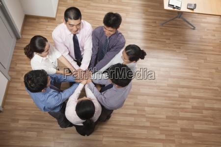 confidence pride bonding unity business togetherness