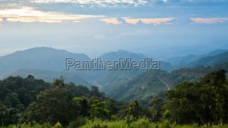 sunrise at doi ang khang in