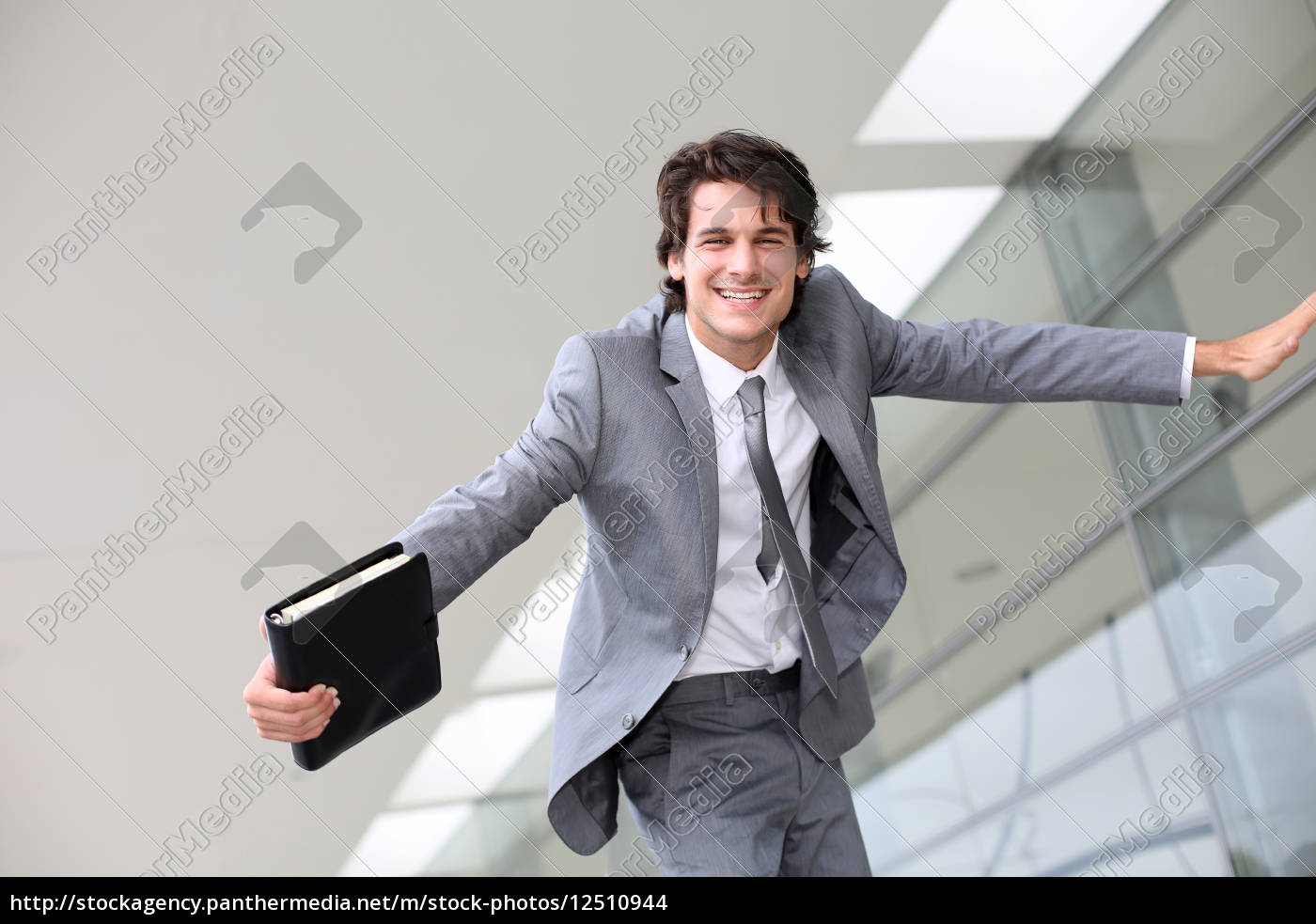 just, graduated, young, man, from, business - 12510944