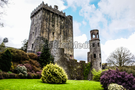 irish castle of blarney famous for