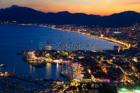 view, of, marmaris, harbor, on, turkish - 12532434