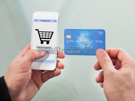 man, paying, with, credit, card - 12534460
