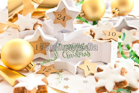 advent calendar with places