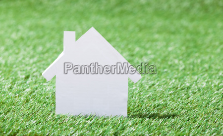 house, model, in, grassy, field - 12540252