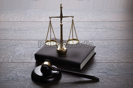 judge, gavel, and, scales, - 12541322