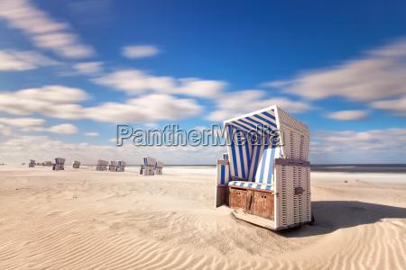 beach chair on sylt