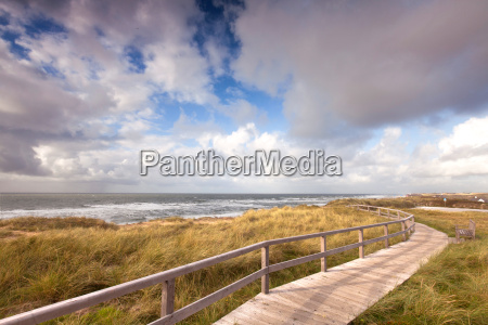 roads and paths on sylt