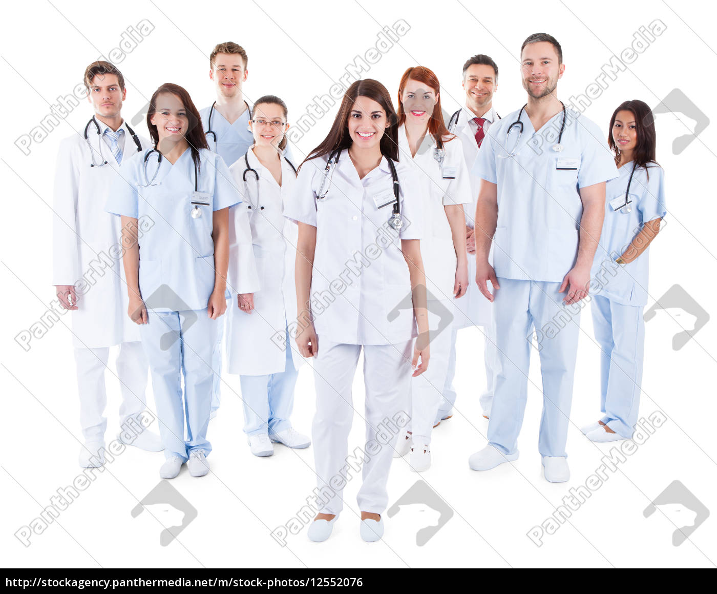 large, diverse, group, of, medical, staff - 12552076