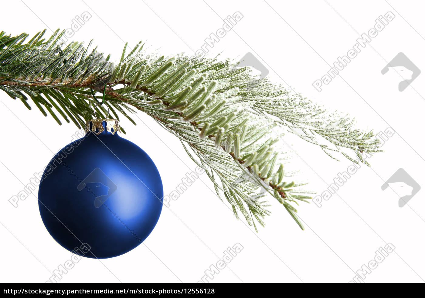 purple, christmas, ball, on, a, snowy - 12556128