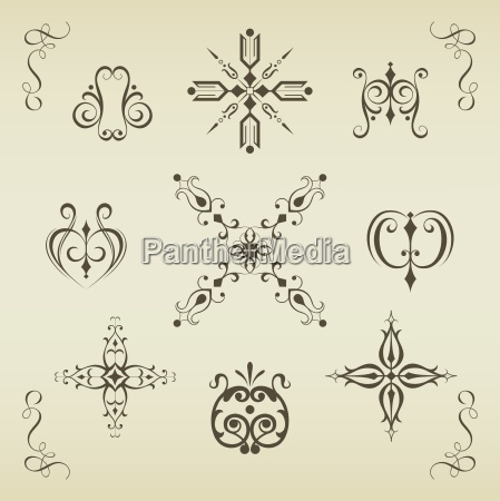 calligraphic elements and page decoration7