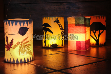 lanterns for sankt martin