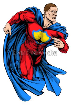 strong superhero