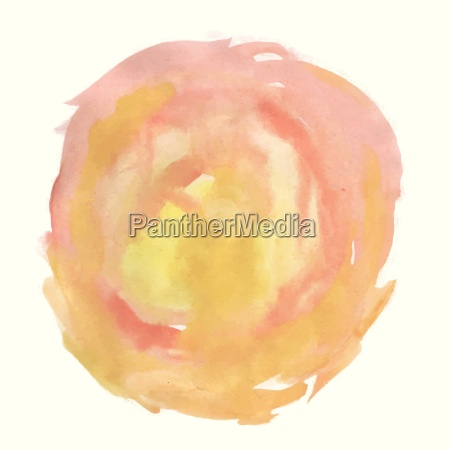 abstract pink watercolor palette