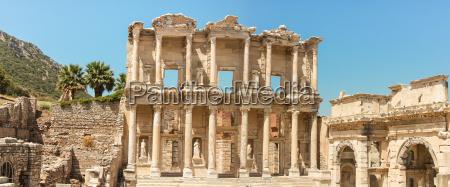 library of celsus ephesus anatolia