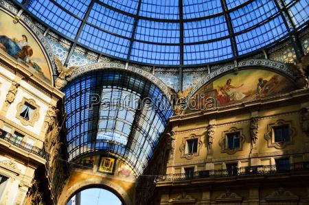 galleria vittorio emanuele ii in central