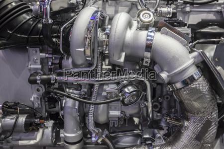 heavy duty truck turbo diesel engine