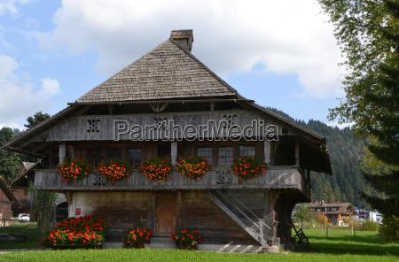 swiss farmhouse