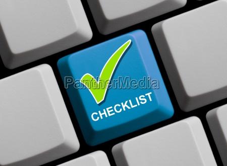 checklist online
