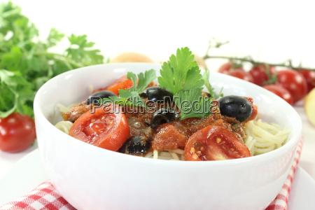 tomatoes tomatos olives parsley