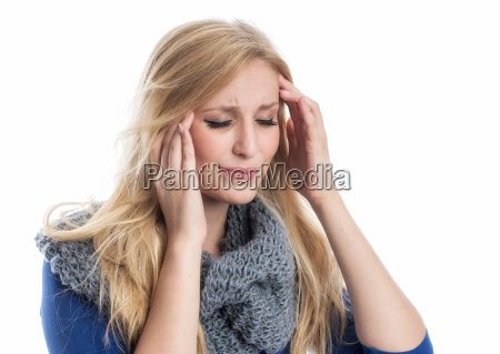 woman, with, headache - 12625030