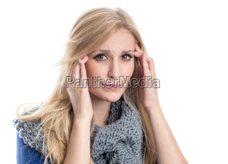 woman, with, headache - 12625032