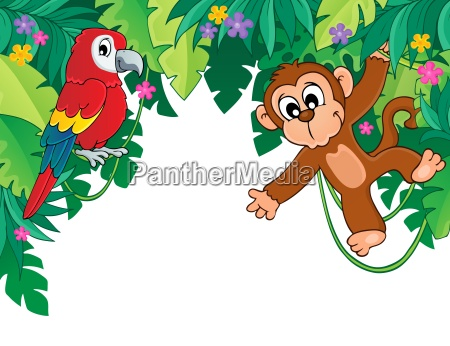image with jungle theme 5
