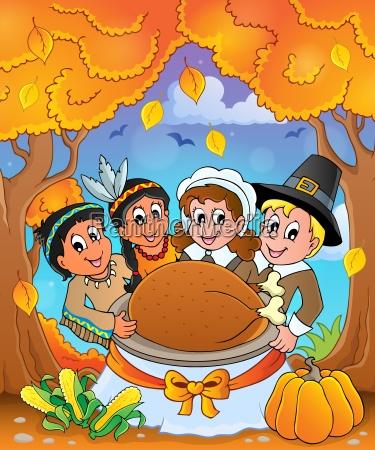 thanksgiving pilgrim theme 6