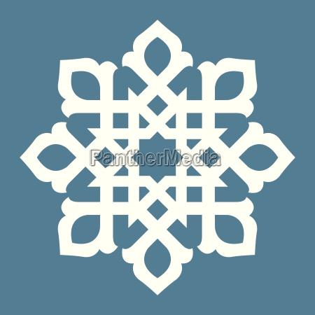 abstract symmetrical design