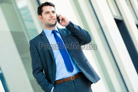 manager on the phone