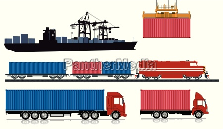 loading and send containers