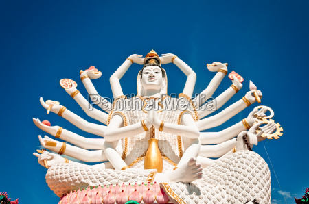 statue of shiva on koh samui