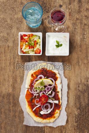 lahmacuna turkish pizza