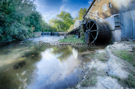 linneys mill on a sunny day