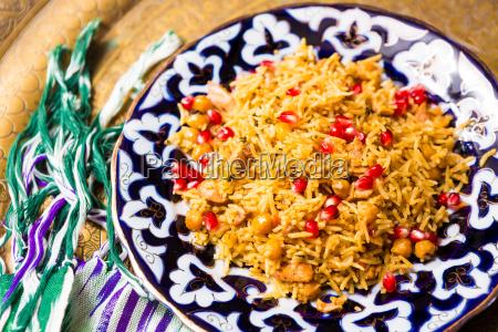 oriental shah pilaf pilaw plov rice