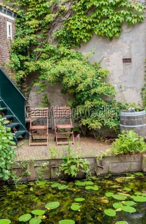 idyllic outdoor seating