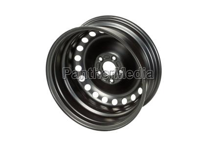 steel wheel rear view