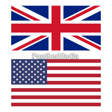 flag of united kingdom and united