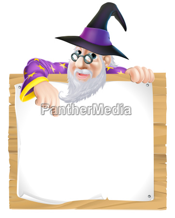 wizard sign