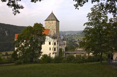 kultur turisme bayern landskab natur castle