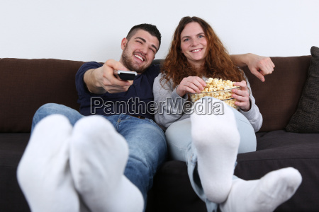 young people having fun and watch