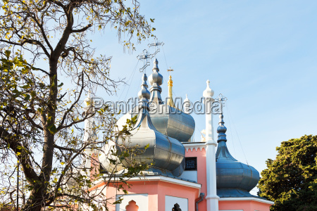 cupola of church of st john