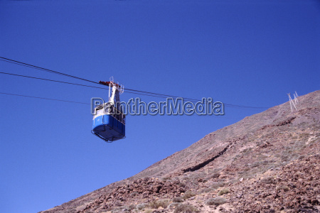 cable car to the summit of