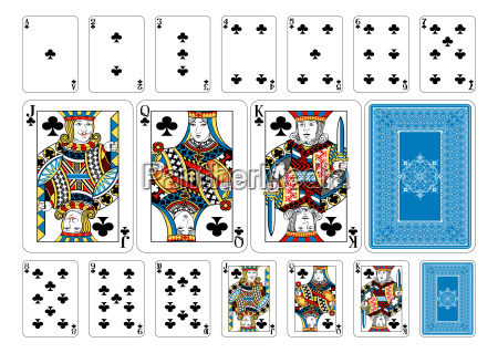 poker size club playing cards plus