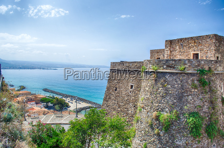 panoramic bird view from murat castle