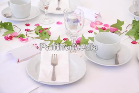 ceremonial wedding table