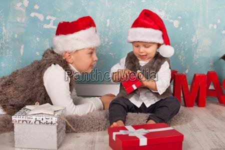 presents christmas eve