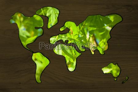 surreal interpretation of green economy