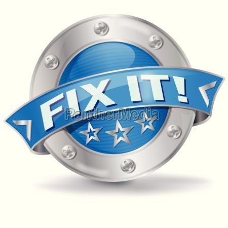 button fix it