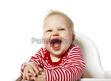 happy baby nach dem essen