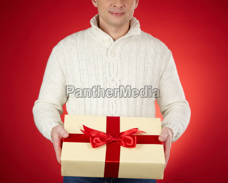 showing giftbox